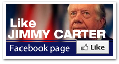 Jimmy Carter by Mike Evans - facebook